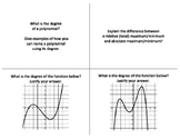 Polynomial Functions - Tea Party (Discussion Activity)