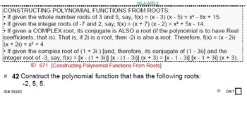 HS ALGEBRA 2A UNIT 8: Polynomial Functions (4 worksheets & 7 quizzes)