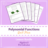 Polynomial Functions Resource Bundle (PrBL PBL Unit)
