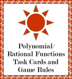 Polynomial Graph Card Game
