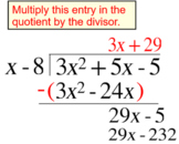 Polynomial Long Division, Intro + 4 Assignments for Power Point