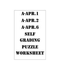 Polynomial Long Division and Remainders ( A-APR.1 A-APR.2   A-APR.6)
