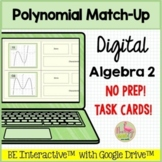 Polynomial Match-Up for Google Slides™ Distance Learning