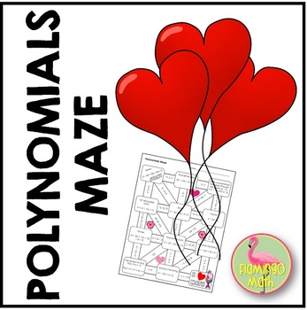 Polynomial Maze Valentine Edition