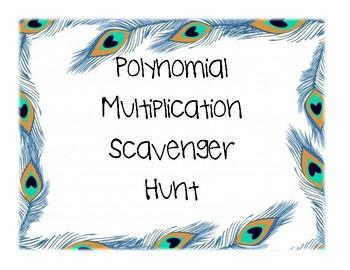Polynomial Multiplication Scavenger Hunt