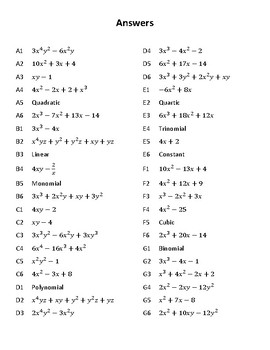 Polynomial Mystery Grid Drawing Goofy