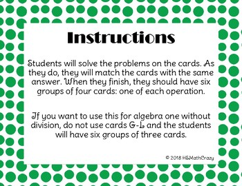 Polynomial Operation Matching Sort