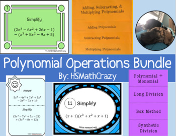 Polynomial Operations Bundle