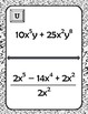 Polynomial Operations Scavenger Hunt Activity