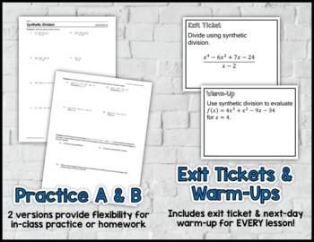 Unit 4 Polynomial Operations Texas Algebra 2 Curriculum