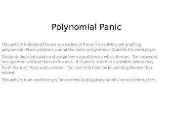 Polynomial Panic