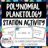 Polynomial Operations - Station Activity