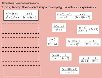 Polynomial & Rational Functions DIGITAL Review for Google Drive