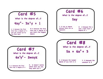 Polynomial Scavenger Hunt with Riddle