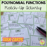 Polynomial Functions Sort & Match Activity (Algebra 2 Unit 5)