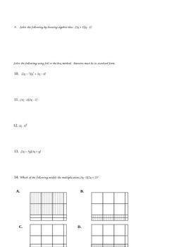 Polynomial Test Part I