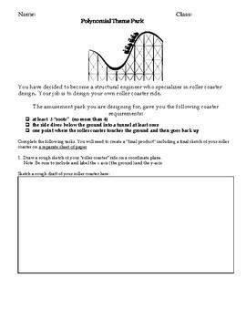 Polynomial Theme Park Task