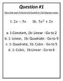 Polynomial Treasure Hunt