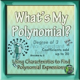 Polynomial Vocabulary and Characteristics Puzzles