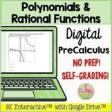 Polynomial and Rational Functions for Google Forms™ Distan