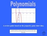 Polynomials jeopardy style game