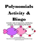 Polynomials Activity and Bingo