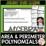 Polynomials Area & Perimeter Word Problems