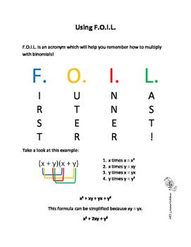 Polynomials Booklet