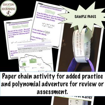 Polynomials Algebra 2 Curriculum Unit 5