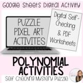 Polynomials Digital Activities Growing Bundle