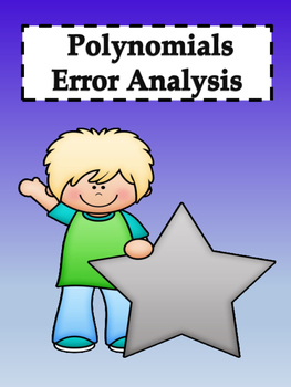 Polynomials Error Analysis