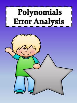 Polynomials Error Analysis