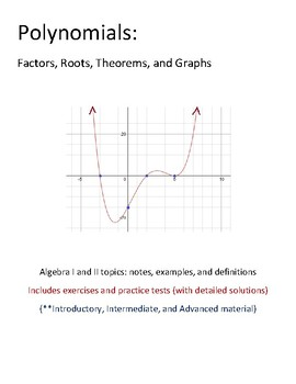 Polynomials: Factors, Roots and Theorems