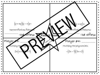 Polynomials: Four 2 Score