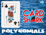 Polynomials Fun Review Game - Card Shark