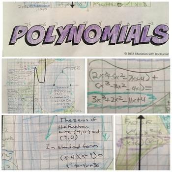 Polynomials Graffiti activity