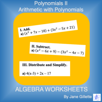 Polynomials II