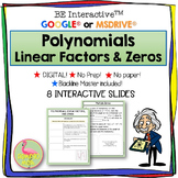 Digital Polynomials Linear Factors & Zeros - Google Edition