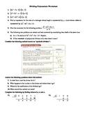 Polynomials Long Division Worksheet
