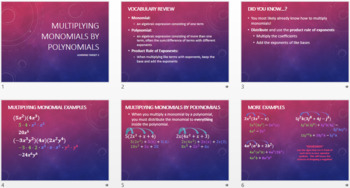 Polynomials Notes BUNDLE
