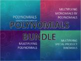 Polynomials Notes BUNDLE