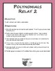 Polynomials Relay 2 (Game)