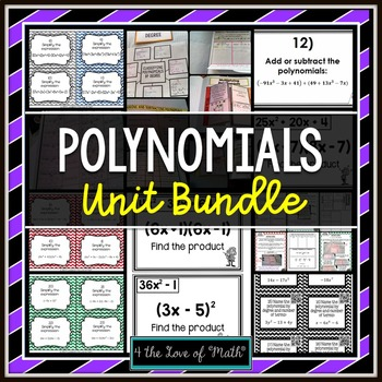 Polynomials Unit Bundle