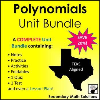 Polynomials (Complete Unit Bundle)