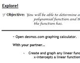 Polynomials Unit Common Core Aligned Ideal for Algebra II