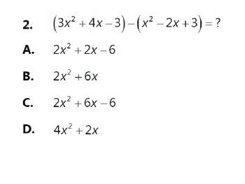 Polynomials Unit Review Activity