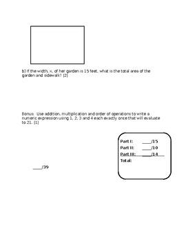 Polynomials Unit Test
