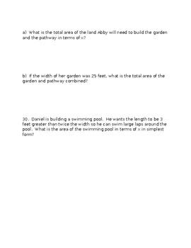 Polynomials Unit Test Review