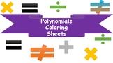 Polynomials Visual Aids