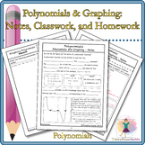 Polynomials and Graphing: Notes, Classwork, and Homework